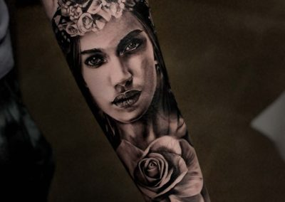 IMG_9853 Robin Labreche FYT Cartidges Black and Grey Rose Tattoo
