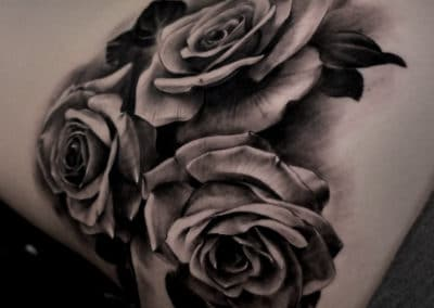 New IMG_6188 Robin Labreche Rose Tattoo Black and Grey