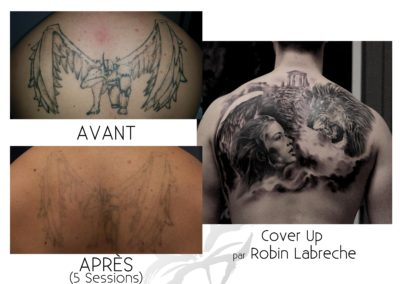 Benoit Back Piece and Cover Up 1