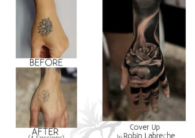 Cover Up Maryam Hand